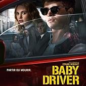 Movie, Baby Driver(英國.美國) / 玩命再劫(台) / 极盗车神(中) / 寶貝車神(港), 電影海報, 法國