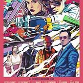 Movie, Baby Driver(英國.美國) / 玩命再劫(台) / 极盗车神(中) / 寶貝車神(港), 電影海報, 美國