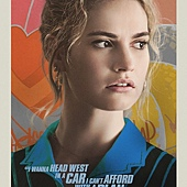 Movie, Baby Driver(英國.美國) / 玩命再劫(台) / 极盗车神(中) / 寶貝車神(港), 電影海報, 美國, 角色海報