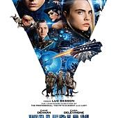 Movie, Valérian and the City of a Thousand Planets(法國) / 星際特工瓦雷諾:千星之城(台) / 星际特工:千星之城(中) / 星際特工:千星之城(港), 電影海報, 美國