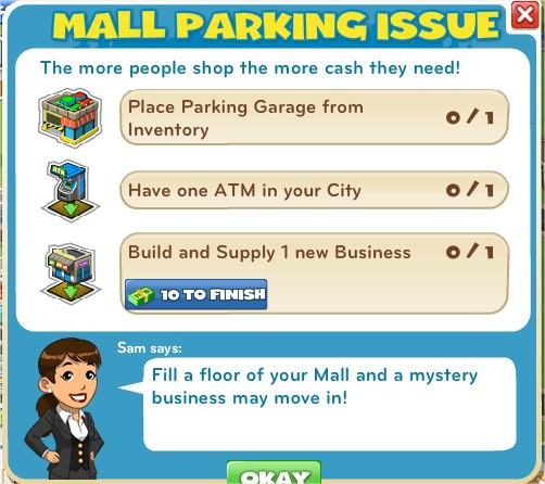 Mall Parking Issue
