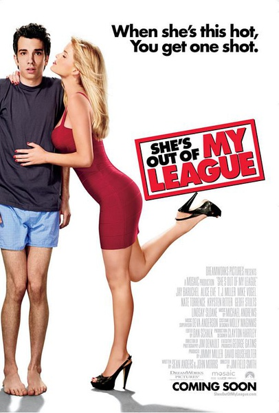 《She is out of my league》