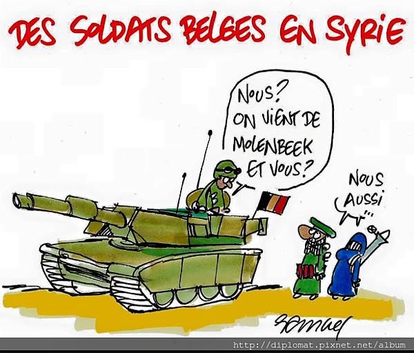 敘利亞戰場 soldats belges de molenbeek