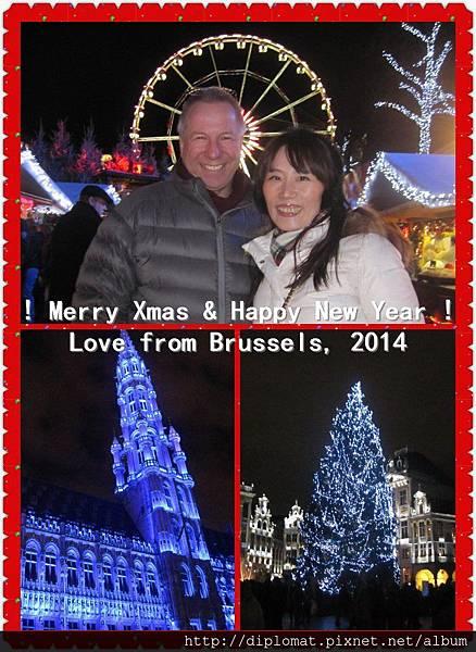2014年布魯塞爾冬季歡樂聖誕市場