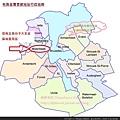 布魯塞爾市19區地圖