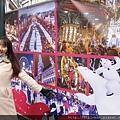 以北極熊母子為主題的2015年冬季歡樂聖誕市場
