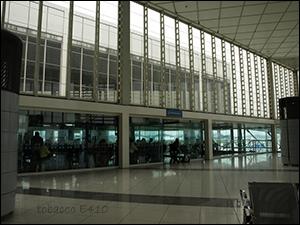 機場抽菸區