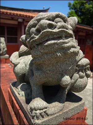 孔廟的石獅