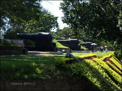 億載金城-大砲們