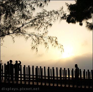 東石漁人碼頭-夕陽.jpg