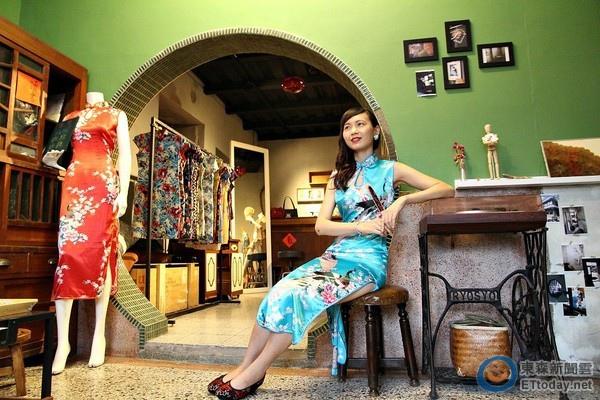 一天不到500元!台南最夯新玩法 穿旗袍在巷弄拍照