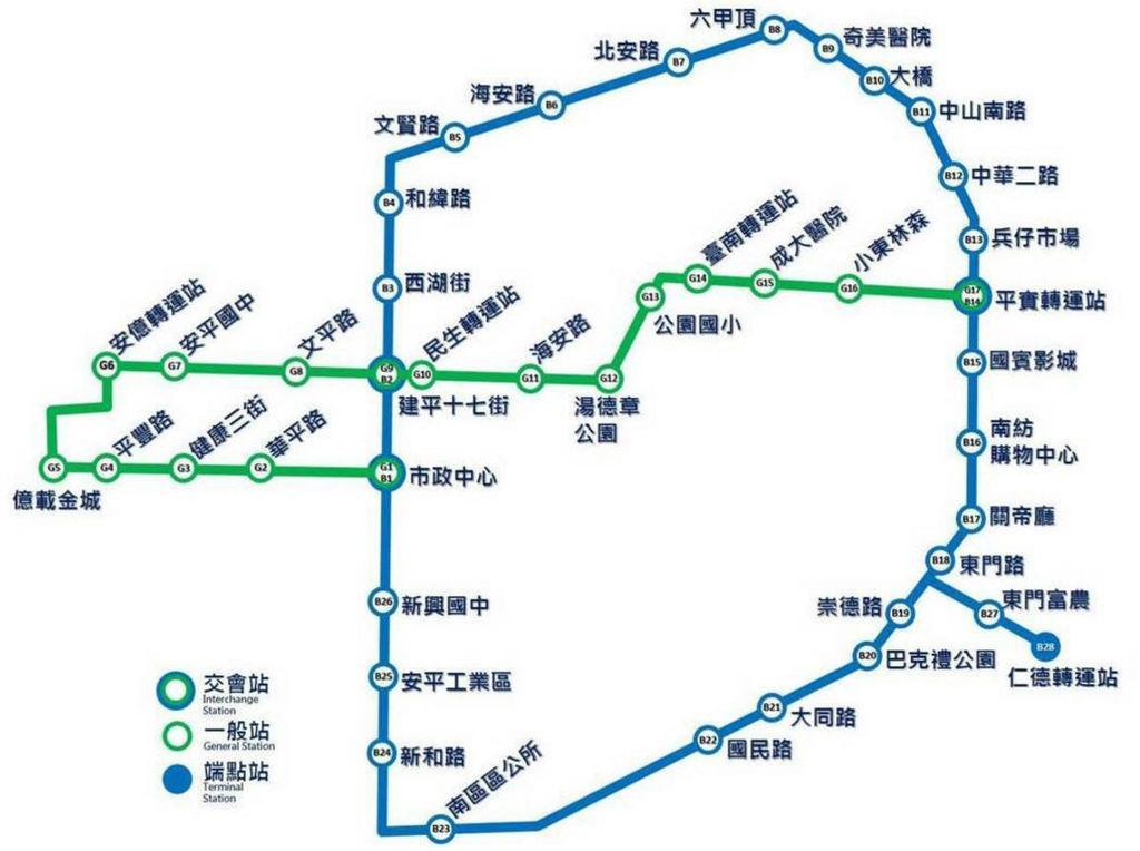 久等了!台南告「捷」 來看看你家門前有捷運嗎?