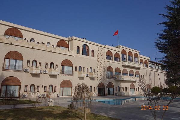 {春秋玉閣}歐亞橋樑--- 2014土耳其 之旅 (5)岩石城市  卡巴德基亞