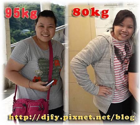 减重紀錄滿5個月-