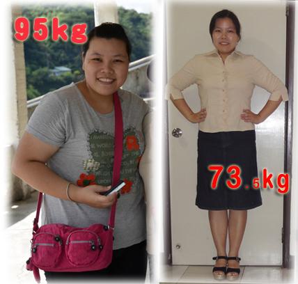 減重八個月