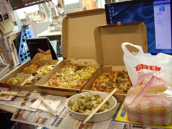 pizza來囉