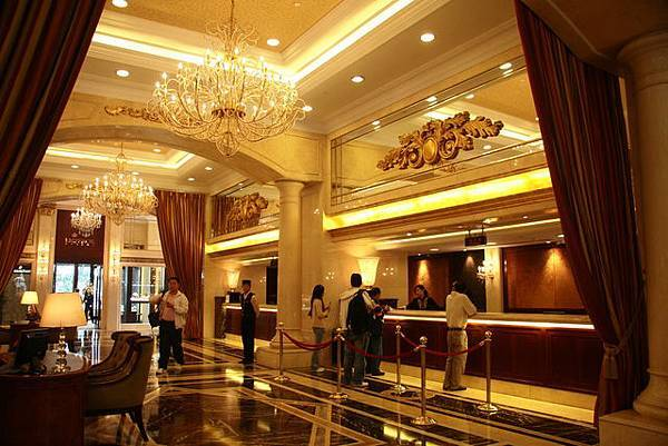 鑲金的飯店
