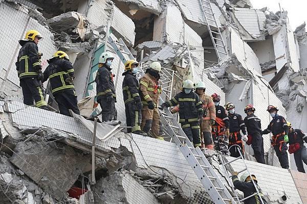 搶救台南地震災民,台南震災捐款大家同心協力