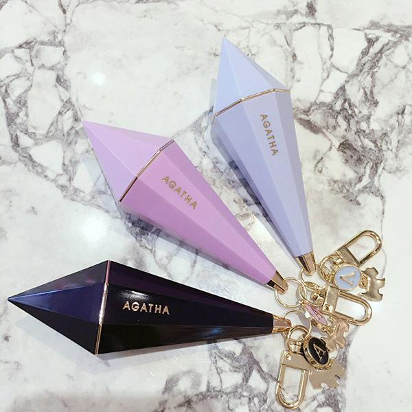 Agatha 鑽石型口紅唇膏