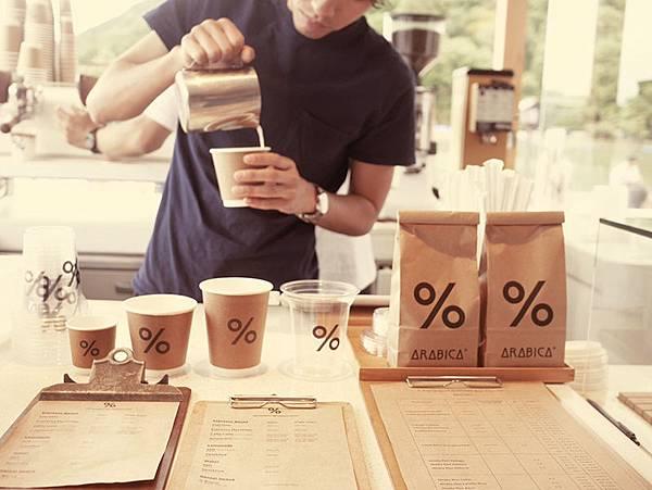%ARABICA日本咖啡店