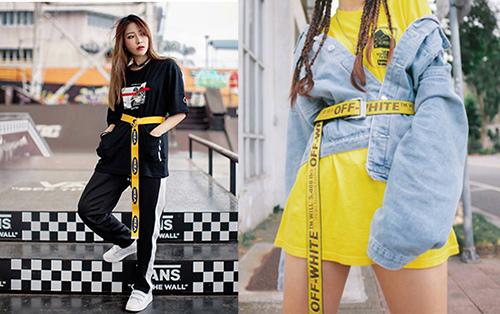 2018春夏流行色-時尚聚焦封鎖線:警示線字母印