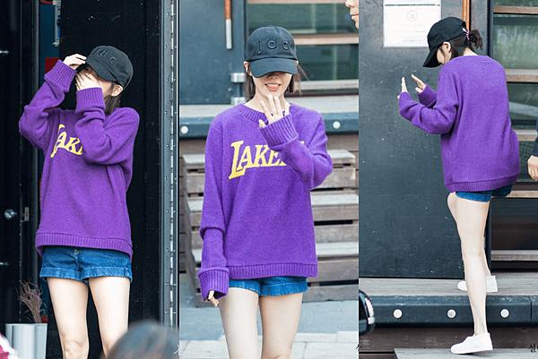 2018pantone紫外光-寬鬆衛衣