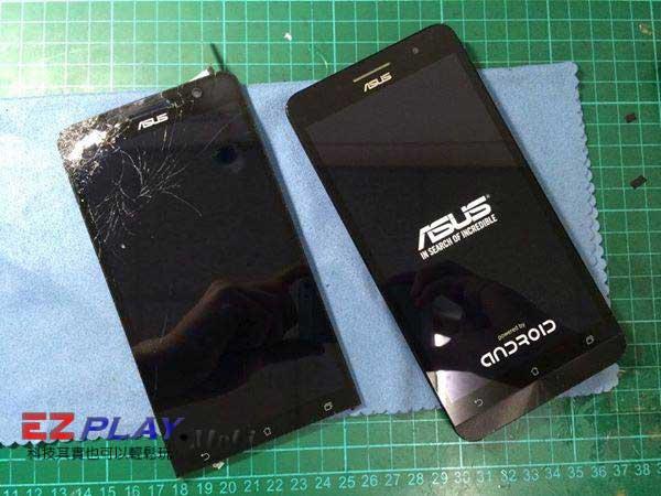 ASUS ZenFeon 5免不了會有螢幕摔破的命運