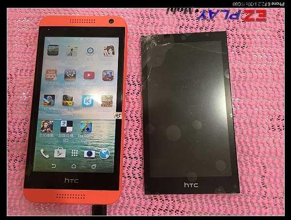 HTC 610摔到螢幕破裂