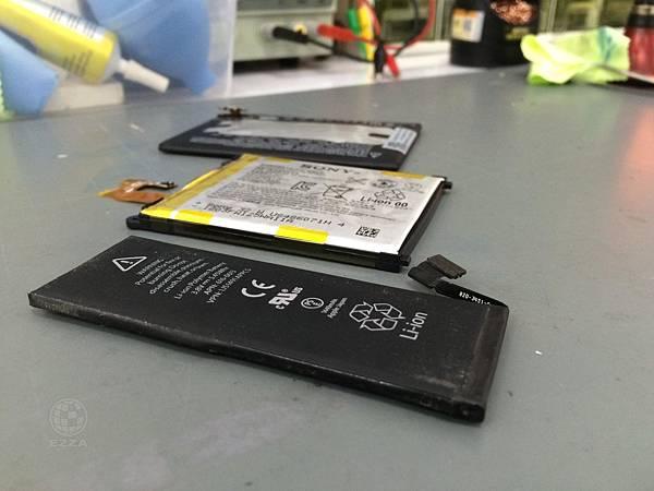 全系列手機電池都膨脹
