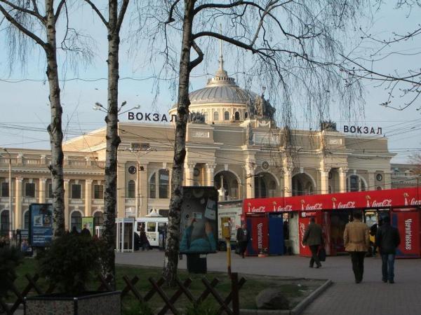 敖德薩火車站