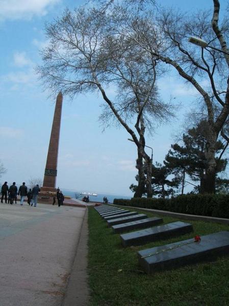 黑海邊的紀念碑