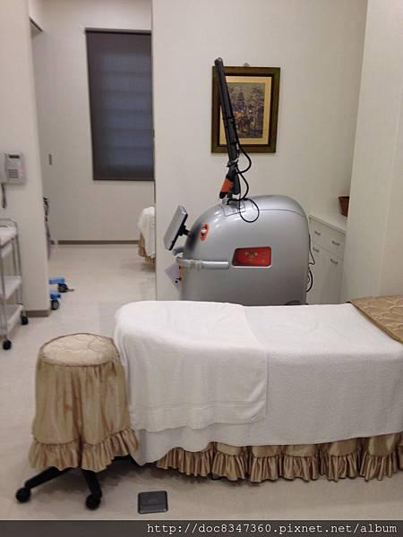 寬敞隱密的治療室