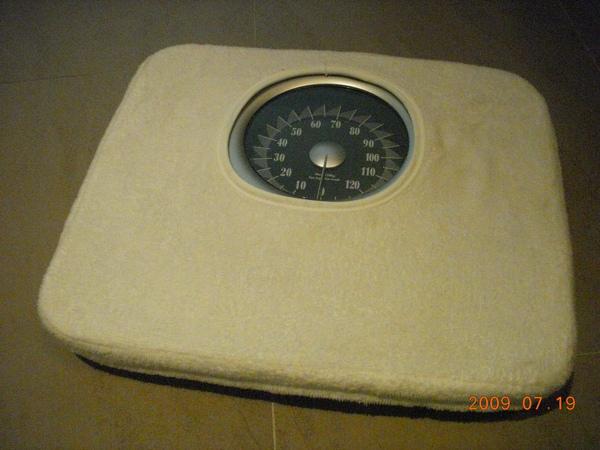 體重計是每天要的啦