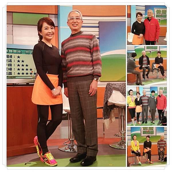 利欣 廖苑利 推薦 電視節目 健康兩點零 路跑 馬拉松 半馬 跑步 運動傷害 NIKE 女子路跑