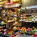 看起來很可口的水果店.JPG