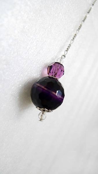 瑪瑙-紫晶靈擺
