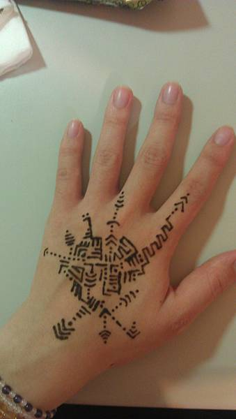 henna能量彩繪 個案003