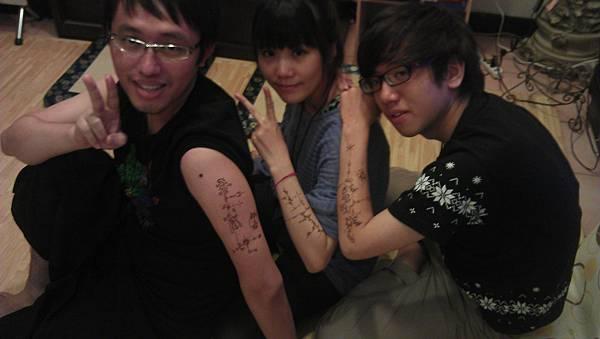 henna能量彩繪 個案007