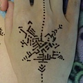 Henna能量彩繪 個案021