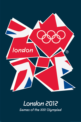 倫敦奧運海報