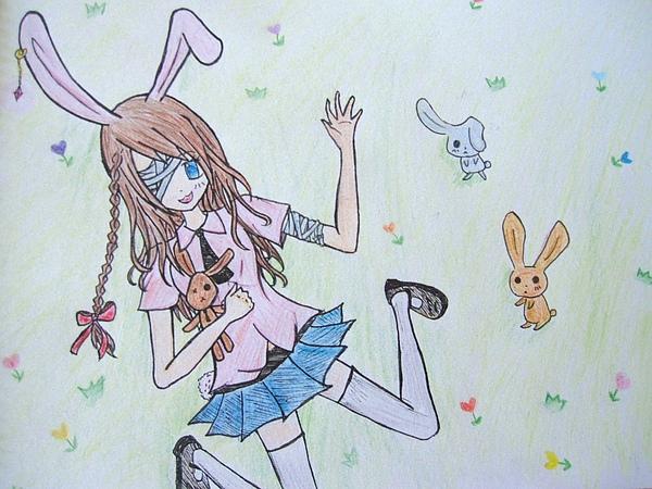 夢恩擬人祭參賽圖(兔子)