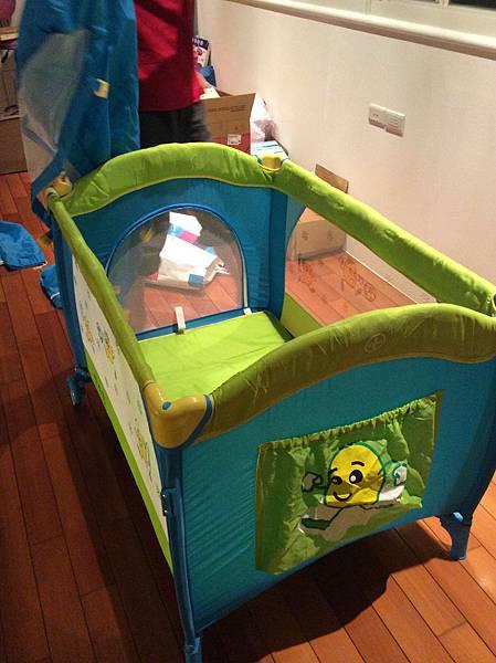 植嬰房雙層遊戲床