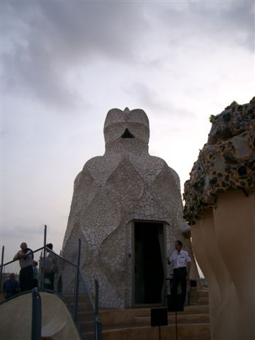 casa mila屋頂