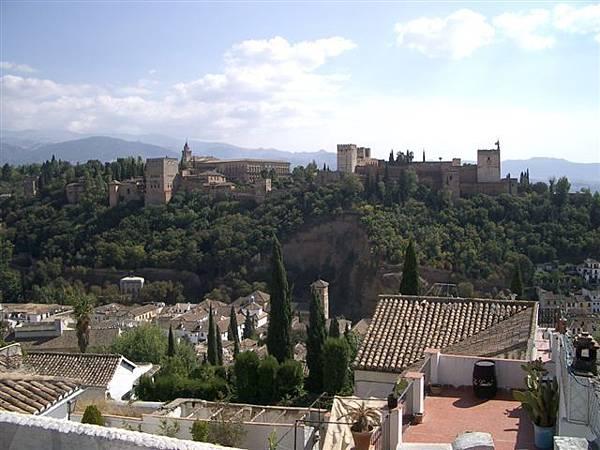 遠眺Alhambra