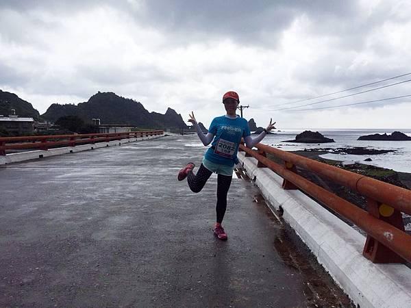 2015蘭嶼馬拉松43k第二日組 全程笑嘻嘻的第三馬