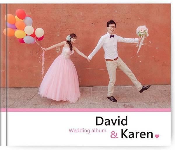 獨一無二的寫真書--David & Karen