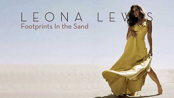 Leona Lewis - Footprints in the sand.jpg