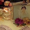 入口的新娘照片