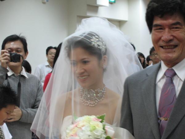 新娘入場近照