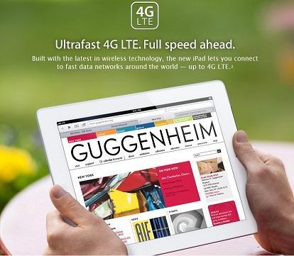 蘋果新iPad(new iPad)外觀 處理器升級4G 解析度提高 但厚重度增加 沒有A6 晶片